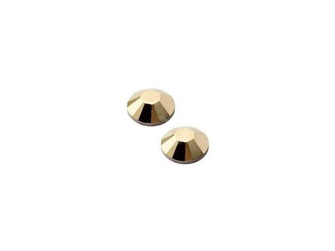 SWAROVSKI CRYSTAL GOLD AURUM 50 ks (vybrat velikost)