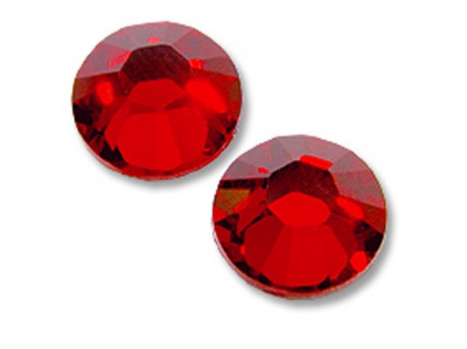 SWAROVSKI CRYSTAL RED SS6 (2mm) 50ks.