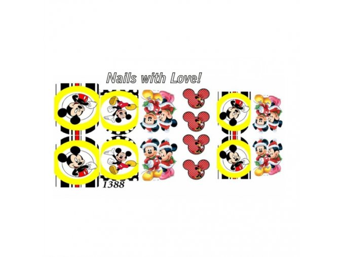 Slider nails with love! 1388