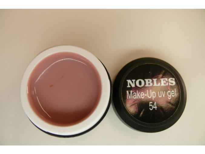 MAKE UP UV GEL- 54 Cover Pink (Camouflage) béžovorůžový NOBLES