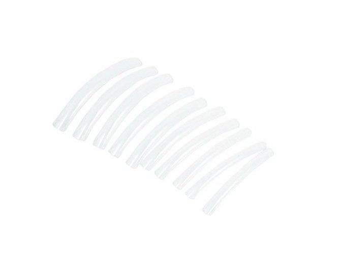 TIP BOX CLEAR 10 ks (soutěžní 9,6 cm-6 cm) rovné, průhledné