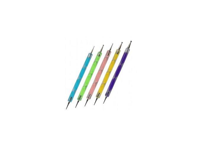 SADA Kuliček na zdobení nehtů 5 ks. dotting tools