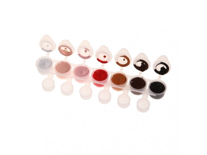 Akrylové barvy Nail Art BODY FACE