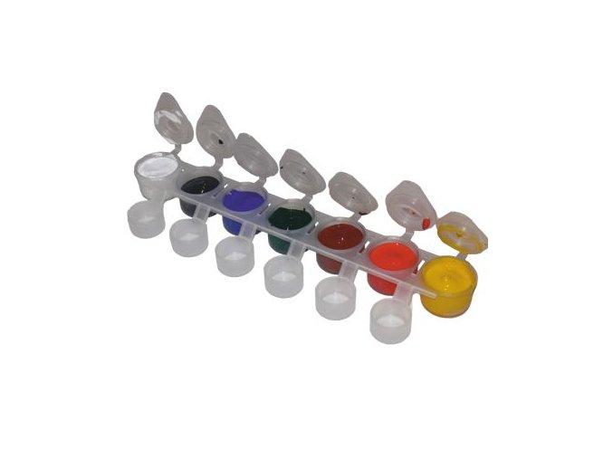Akrylové barvy Nail Art CLASSIC