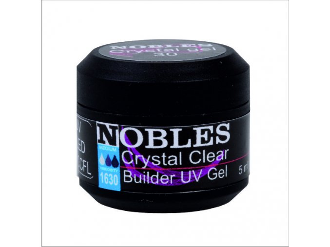 UV/LED GEL NOBLES BUILDER CRYSTAL CLEAR - NEPÁLÍ!