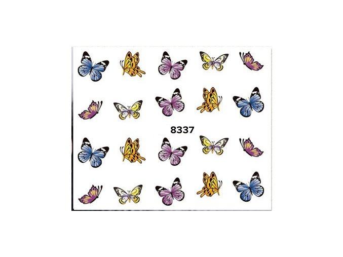 Vodolepka na nehty - Motyl 8337