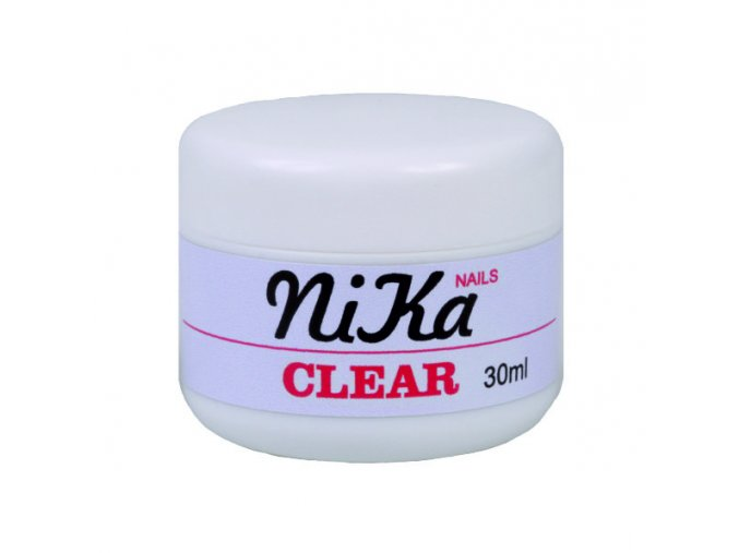 GEL UV GEL NIKA CLEAR 3v1 Nailservice