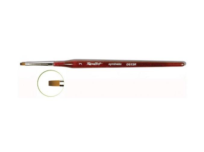 DS23R štětec One Stroke rovný Roubloff (vybrat velikost)