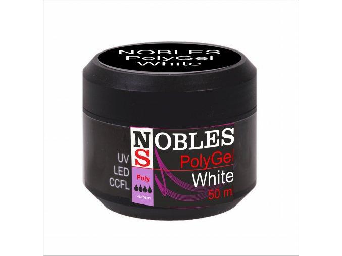 UV/LED POLYGEL WHITE 50 ml (BabyBoomer) NOBLES