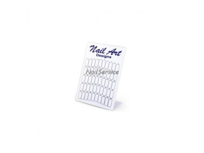 VZORNÍK - Display NAIL ART na nehty