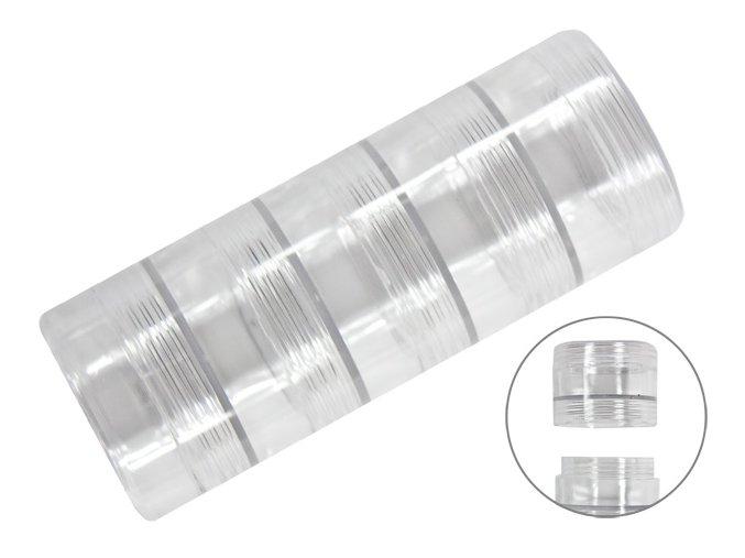 Box na uskladnění kaninků na zdobení nehtů ( 5 doz  na sobě)