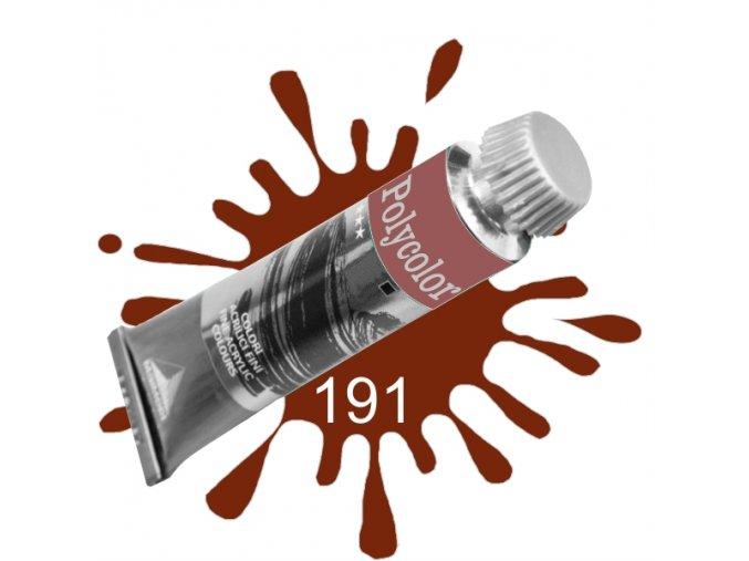 Akrylová barva POLYCOLOR Red Ochre (191)