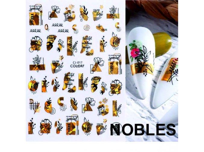 Vodolepka na nehty - Motyl 2