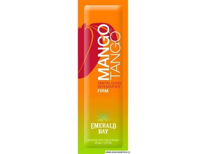 Opalovací krém do solária Emerald Bay Mango Tango 15 ml.