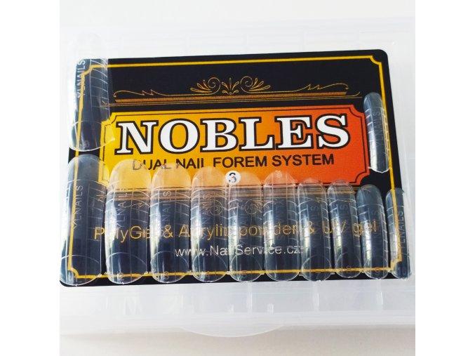 DUAL SYSTEM FORMS NOBLES č. 3 hranaté (velké, vysoké C) 120 ks krabička