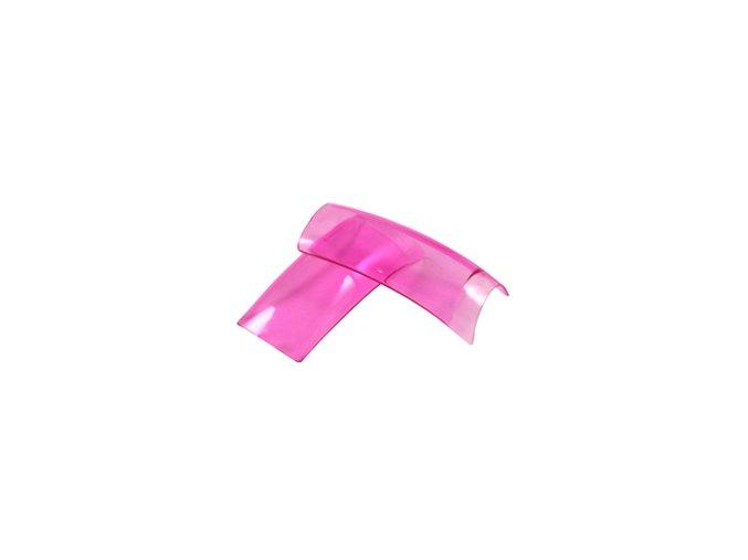Tipy Color Clear Pink 20ks /sáček (všechny velíkostí)