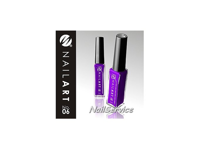 LAK NAIL ART VIOLET - 06  9 ml