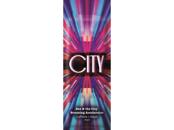 CITY 15 ml.Vysoce hydratační samoopalovací urychlovač s kofeinem.