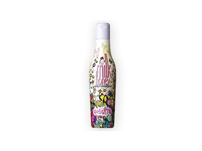 Solární kosmetika Oranjito Milk & Honey Lev. 2 Superbronzer 200 ml