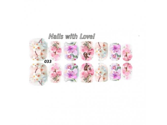 Slider nails with love! 033