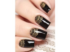 SLIDER NAIL ART 328 Gold