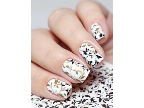 SLIDER NAIL ART 213 Black