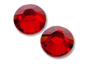 SWAROVSKI CRYSTAL RED  100 ks (vybrat velikost)
