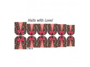 Slider nails with love! 1411