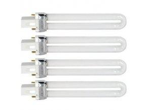 4 X UV Zářivka náhradní  s pomalým startem L