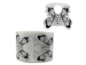 500pcs roll professional butterfly nail form