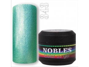 UV/LED COLOR  GLITTER GEL- 343  5ml.