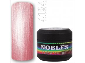 UV/LED GEL COLOR PERL STARDUST ROSE 5ml. NOBLES