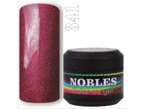 UV/LED GEL GLITTER RED 341   5ml.