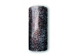 uv gel glitter  multimix black red 5ml