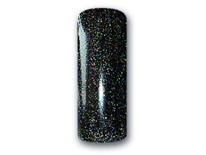 UV/LED GEL GLITTER  MULTIMIX BLACK 5ml.