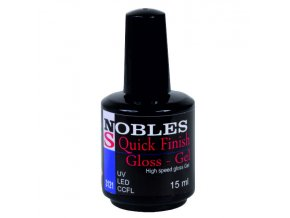 UV/LED FLEXI QUICK FINISH GEL NOBLES bez výpotků 15ml