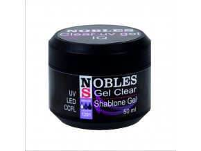 UV/LED GEL NOBLES IQ CLEAR  pinčovácí na šablony