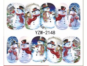 Vodolepka na nehty - Vánoční 2148