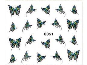 Vodolepka na nehty - Motyl 8351