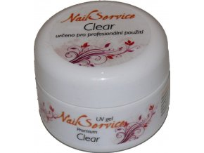 UV GEL CLEAR Jednofázový  NailService