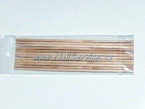 10 ks. Dřívko pomerančové na manikúrudlouhé 10 cm.