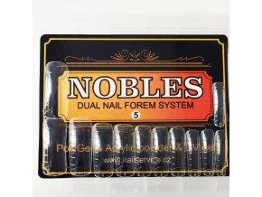 DUAL SYSTEM FORMS NOBLES č.5 hranaté (nejmenší ) 120 ks krabička