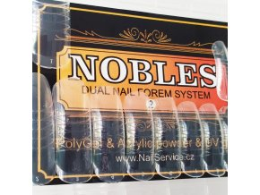 DUAL SYSTEM FORMS NOBLES č.2 Hranaté (velké, menší C) sáček 24 ks