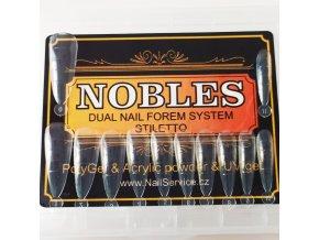 DUAL FORMS NOBLES STILETTO č.2 kratší  (vybrat množství)