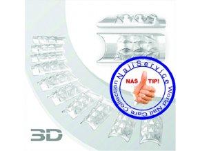Crystal 3D Nail Tips 100Ks / Box