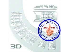 Crystal 3D Nail Tips 120Ks / Box