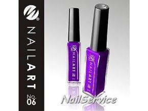 LAK NAIL ART VIOLET - 06  9 ml