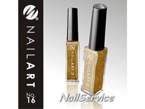 LAK NAIL ART GOLD - 16  9 ml