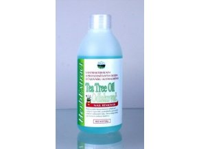 ODLAKOVAČ Nail Polish Remover Tea Tree Oil.