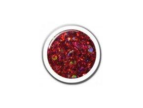CRISP GLITTER RED-červená  5g.